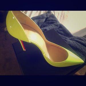 Red bottoms heels